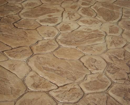 beton amprentat