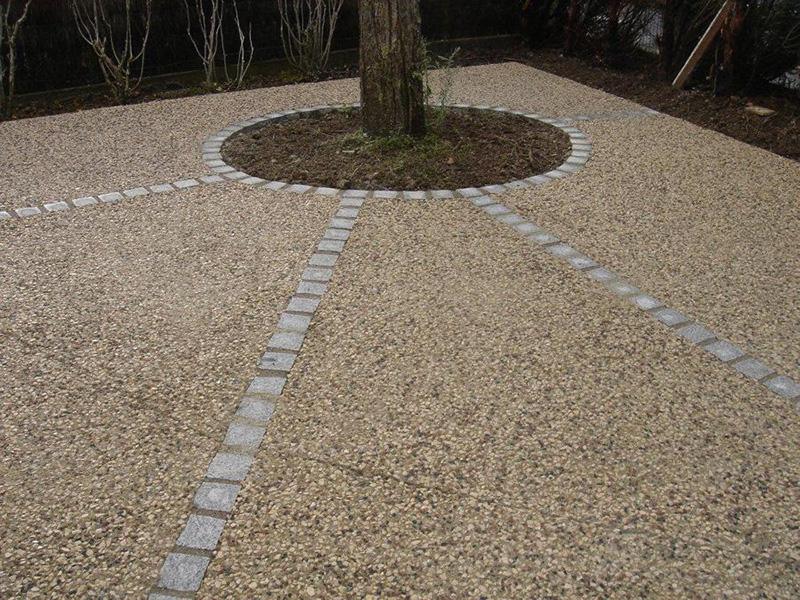 pavaje din beton cu piatra spalata